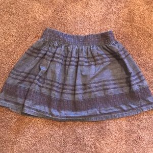 American Eagle Boho Denim Skirt